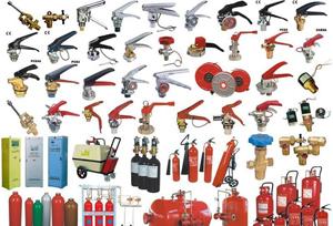 Резервни части за пожарогасители